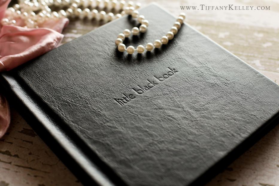 Boudoir Photo Book Cover Ideas ~ The little black book