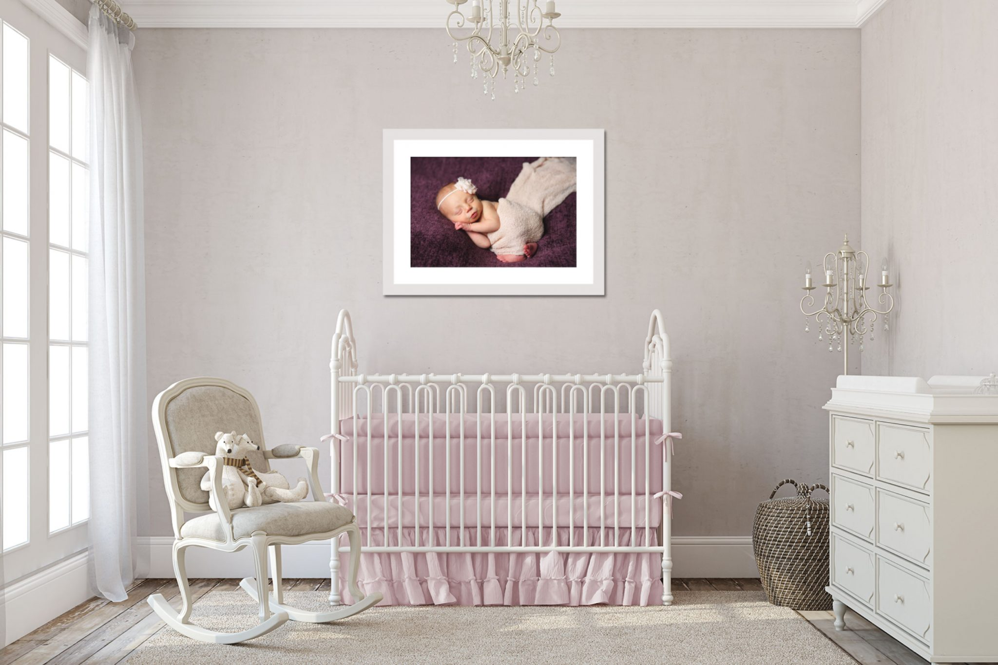 Branson MO Photographer Tiffany Kelley Photography Newborn Wall Art