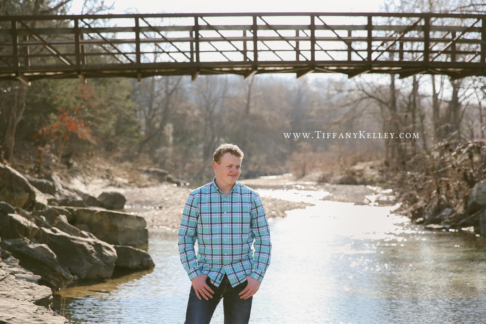Grant Branson Springfield MO Senior Portrait Photographer - Tiffany Kelley Photography