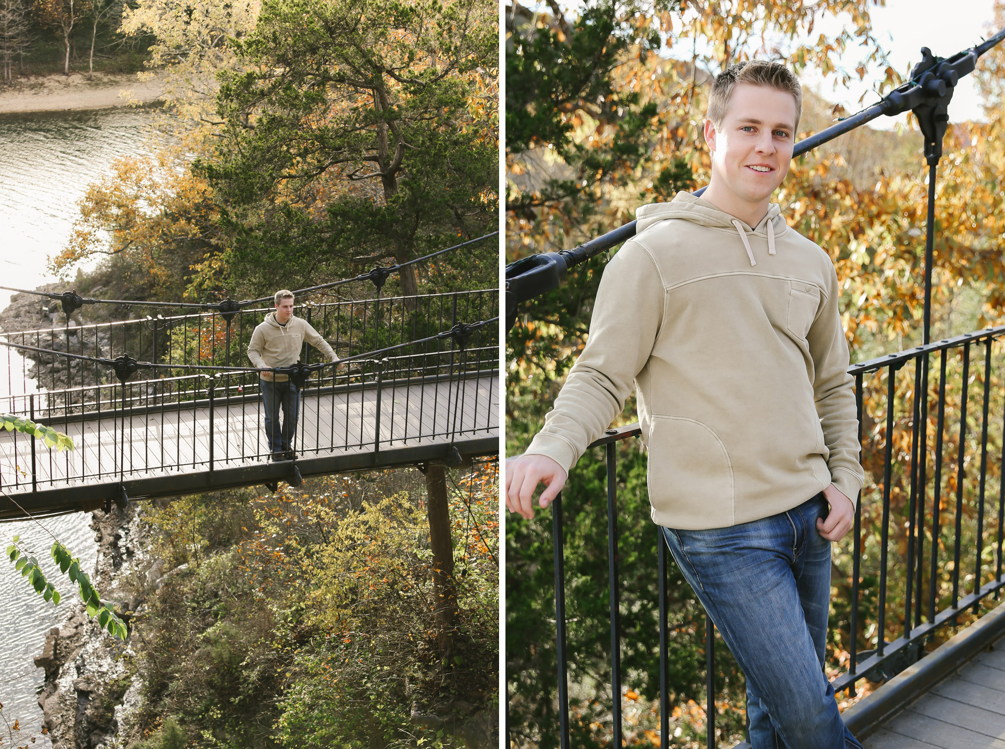 Jordan Branson MO Senior Photographer Big Cedar Lodge Tiffany Kelley Photography