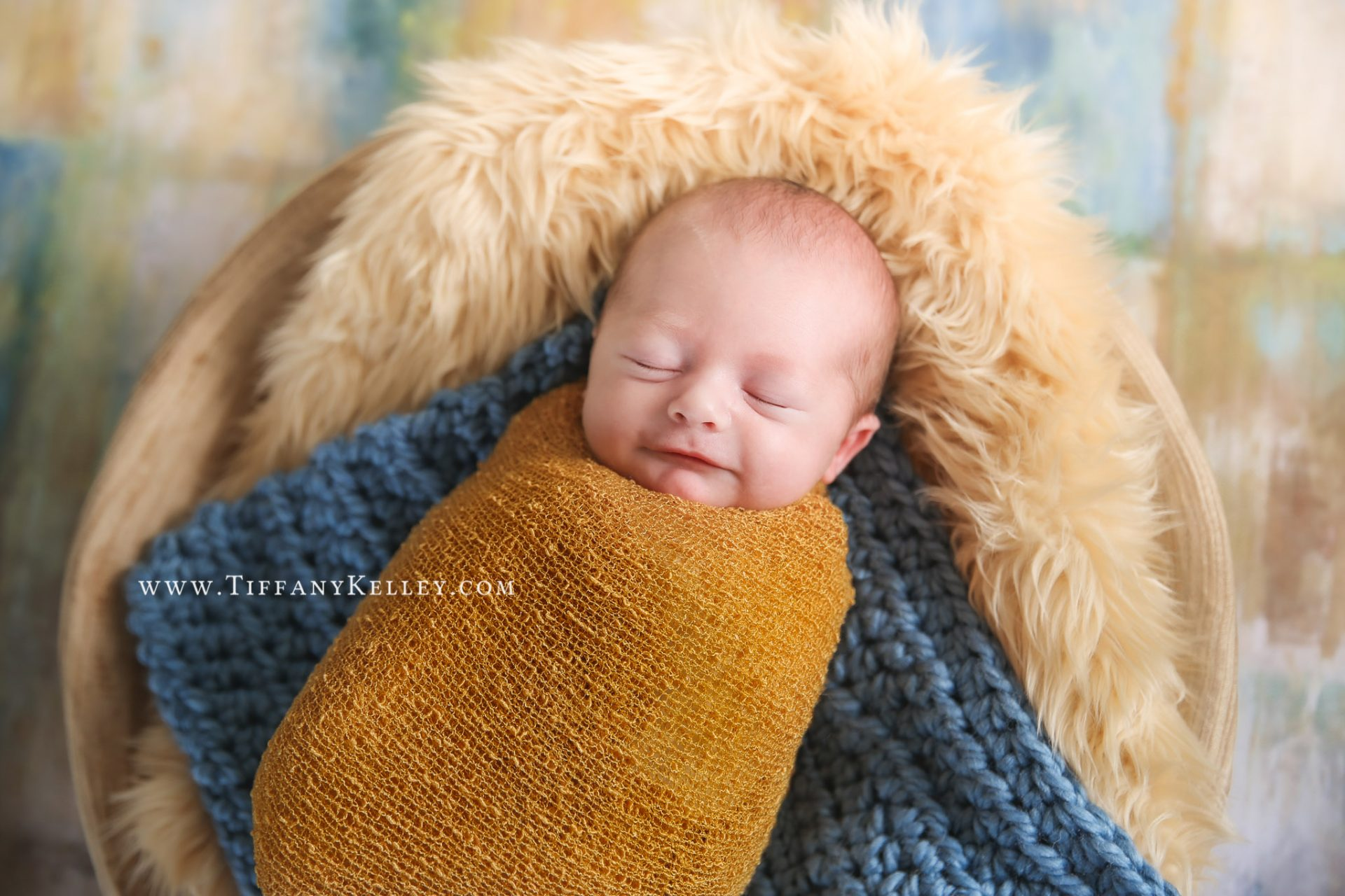Easton Branson and Springfield Newborn Photographer Tiffany Kelley Photography Studio