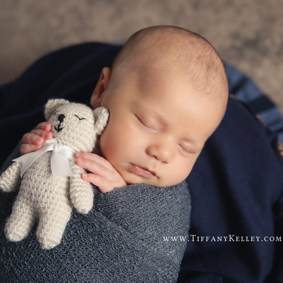 Owen Branson and Springfield MO Newborn Photographer Tiffany Kelley Photography