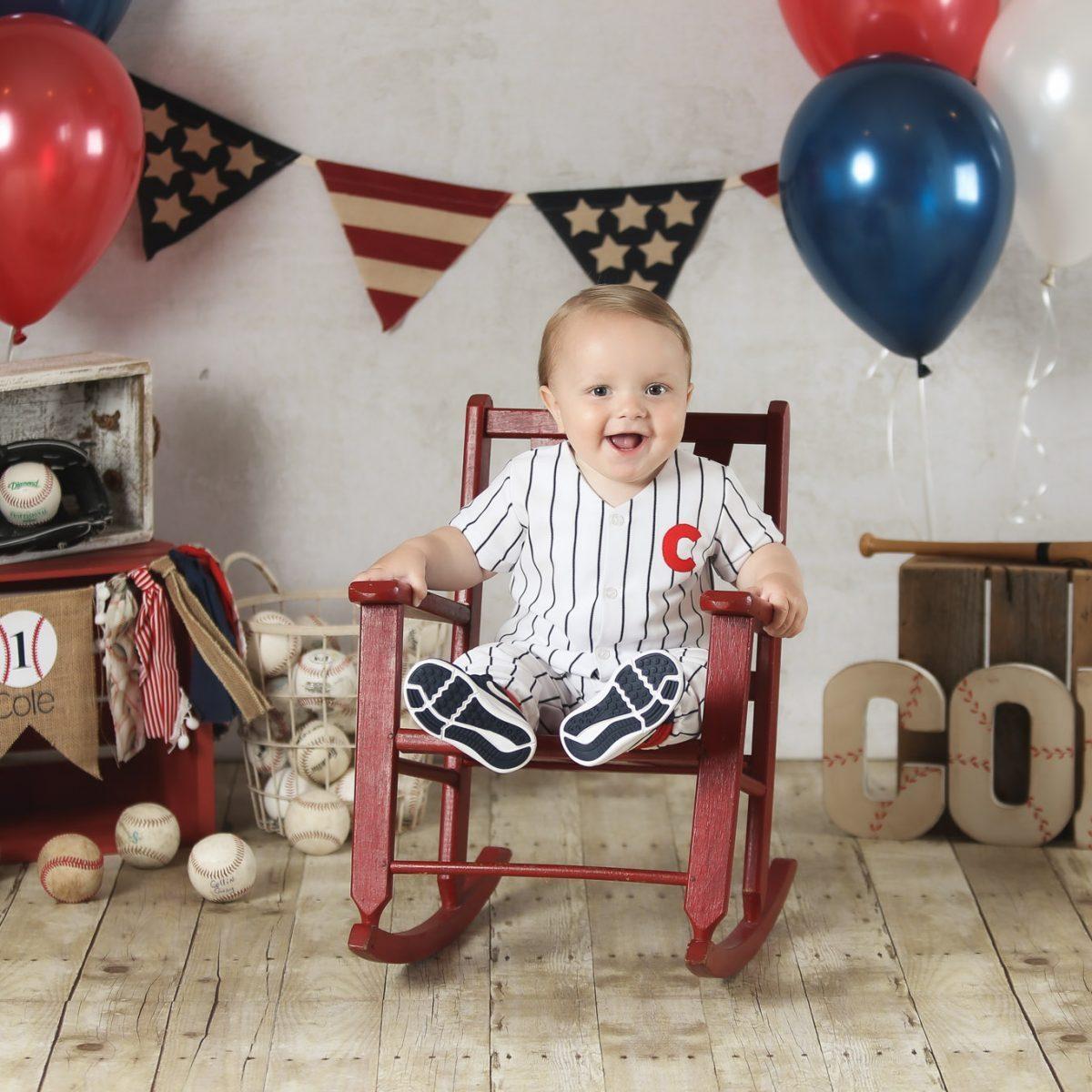 Featured Cole Year Old Birthday Cake Smash Session Branson Missouri Family Photographer Tiffany Kelley Photography